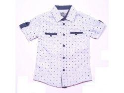 Сорочка для хлопчика літня Dots зріст 98см ТМ MUTLU