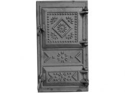Дверцята чавунні cуцільні (вишиванка) ТМ ВОДОЛІЙЯП