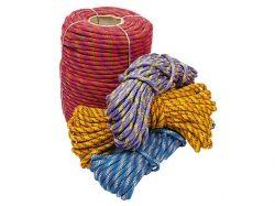"""Фал кольоровий, плетений d=10мм (20м) ТМ""""ХАРКІВ"""""""