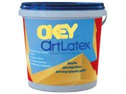 Фарба ітерapos;єрна для стін та стелі 14кг ArtLatex ТМOKEY