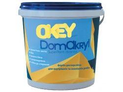 Фарба фасадна 1,4кг DomAkryl ТМOKEY