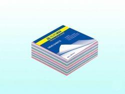 Блок паперу для нотаток Зебра, 80х80мм, 400арк ВМ.2252 ТМ BUROMAX
