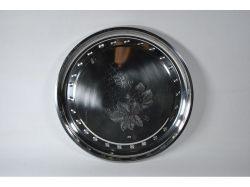 Піднос з нерж. сталі Виноград d=450мм 152 ТМ CHINA