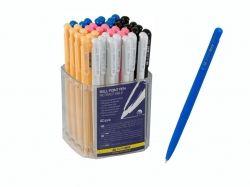 Ручка кулькова автоматична (40шт. в уп.) 0,7мм, BM.820501 синя ТМ BUROMAX