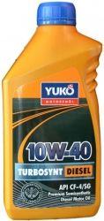 Yukoil TURBOSYNT DIESEL 10W-40 1л