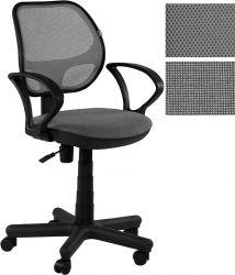 Офисный стул AMF Чат/АМФ-4 сиденье А-14/спинка Сетка серая