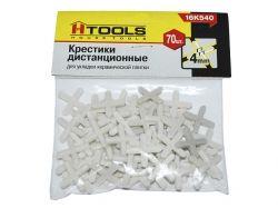 Хрестики дистанційні 4,0 мм, 70 шт. ТМ HOUSE TOOLS