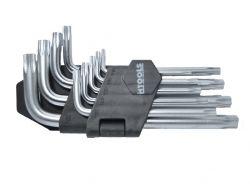 Ключі шестигранні Torx T10T50, набір 9 шт арт.35D960 ТМ HOUSE TOOLS