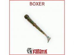 Силіконова приманка Boxer 3 (75 мм) колір 004 (8шт. в уп. ) ТМ FANATIK