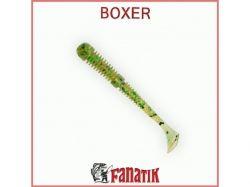 Силіконова приманка Boxer 3,5 (75 мм) колір 005 (6шт. в уп. ) ТМ FANATIK