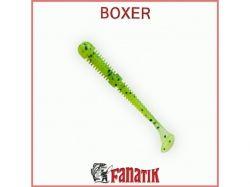 Силіконова приманка Boxer 3,5 (75 мм) колір 022 (6шт. в уп. ) ТМ FANATIK