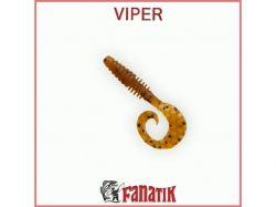 Силіконова приманка Viper 2 (50 мм) колір 002 (10шт. в уп. ) ТМ FANATIK