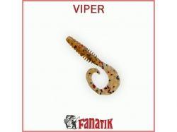 Силіконова приманка Viper 2 (50 мм) колір 003 (10шт. в уп. ) ТМ FANATIK