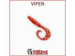 Силіконова приманка Viper 2 (50 мм) колір 023 (10шт. в уп. ) ТМ FANATIK