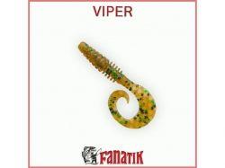 Силіконова приманка Viper 2,9 (73,6 мм) колір 004 (8шт. в уп. ) ТМ FANATIK