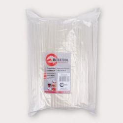 Комплект прозрачных клеевых стержней 7.4мм*200мм, уп. 1кг INTERTOOL RT-1036