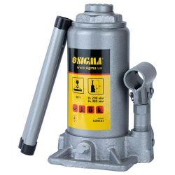 Домкрат гидравлический бутылочный 10т H 200-385мм Standard Sigma (6106101) Sigma 6106101