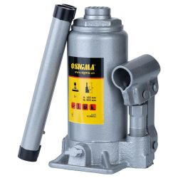 Домкрат гидравлический бутылочный 5т H 185-355мм Standard Sigma (6106051) Sigma 6106051