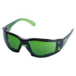 Очки защитные c обтюратором Zoom anti-scratch, anti-fog (зеленые) Sigma (9410881) 9410881