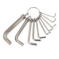 ключи шестигранные 10шт 1,5-10мм (nickel) Grad 4022635