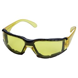 Очки защитные c обтюратором Zoom anti-scratch, anti-fog (янтарь) Sigma (9410861) 9410861