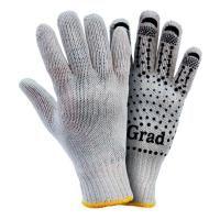 перчатки трикотажные с точечным ПВХ покрытием р10 Grad grad 9442715
