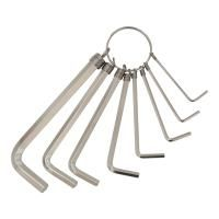 ключи шестигранные 8шт 1,5-8мм (nickel) Grad 4022615