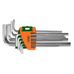 ключи шестигранные 9шт 1,5-10мм CrV (средние) Grad 4022085