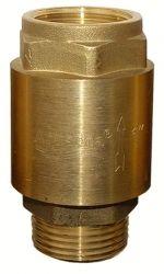 """клапан обратный 1""""Mx1""""F (латунь) euro 779655"""