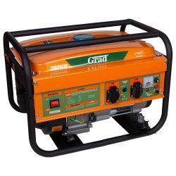 генератор бензиновый 2.5/2.8кВт 4-х тактный ручной запуск Grad grad 5710915