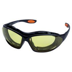 Набор очки защитные с обтюратором и сменными дужками Super Zoom anti-scratch, anti-fog (янтарь) Sigma (9410921) 9410921