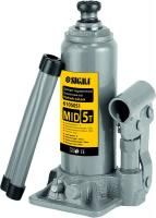 домкрат гидравлический бутылочный mid 5т H 185-355мм 6105051