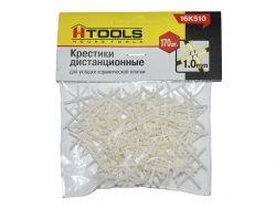 Хрестики дистанційні 1,0 мм, 170 шт. ТМ HOUSE TOOLS