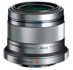 Объектив OLYMPUS ET-M4518 45mm 1:1.8 Серебро