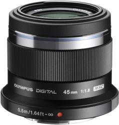 Объектив OLYMPUS ET-M4518 45mm 1:1.8 Черный