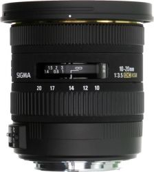 Объектив SIGMA 10-20mm/3.5 EX DC HSM Canon