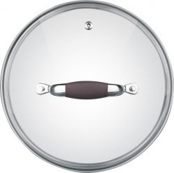 Крышка для посуды Rondell RDA-533 24 см Mocco