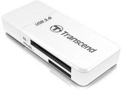 Кардридер TRANSCEND Cardreader TS-RDF5W 5-in-1USB 3.0 Белый