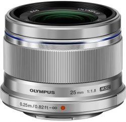 Объектив OLYMPUS ES-M2518 25mm 1:1.8 Серебристый