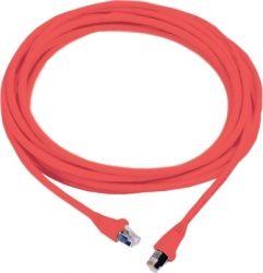 Сетевое оборудование MOLEX PC RJ45, 568B, FTP, stranded, PC 5e, LS0H 1m, красный
