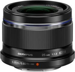 Объектив OLYMPUS ES-M2518 25mm 1:1.8 Черный