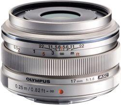 Объектив OLYMPUS EW-M1718 17mm 1:1.8 Серебро