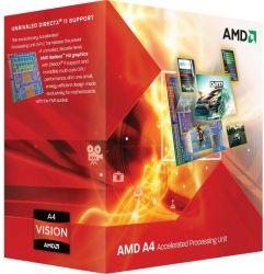 Процессор AMD A4-4020 X2 sFM2 (3.2Ghz, 1MB, 65W) BOX
