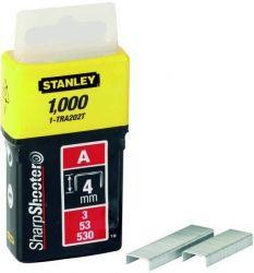 Скобы Stanley Light Duty тип А, 4мм, 1000шт