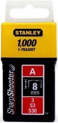Скобы Stanley Light Duty тип А, 8мм, 1000шт