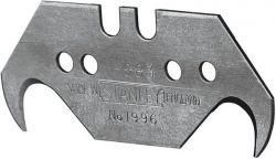 """Лезвие Stanley крючкообразное """"1996"""", длина 50мм, 5шт"""