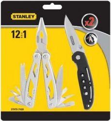 Мультитул Stanley MULTI-TOOL 12 в 1 + складной карманный нож