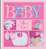 Альбом EVG 20sheet Baby collage Pink w/box
