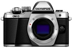 Цифровая камера OLYMPUS E-M10 mark II Body серебристый