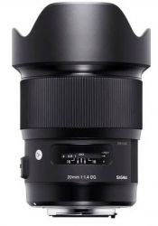 Объектив SIGMA AF 20/1,4 DG HSM Art Canon